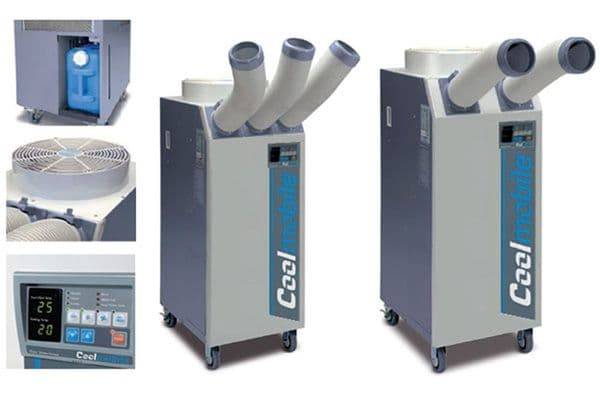 CoolMobile 21 Indust. High Output Duct-able Digital Portable Air Con 6Kw/20000Btu 240V~50Hz